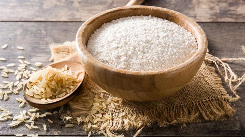 خواص آرد برنج برای پوست صورت