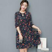 XXXL-4XL-5XL-Plus-Size-Women-Chiffon-Dress-2017-Spring-Summer-Elegant-Style-font-b-Romantic