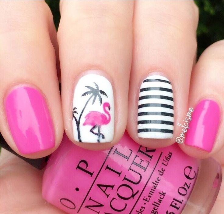 f1ba3b56199eb30028f3364c9c333f10--gel-nail-designs-short-nails-short-nail-design