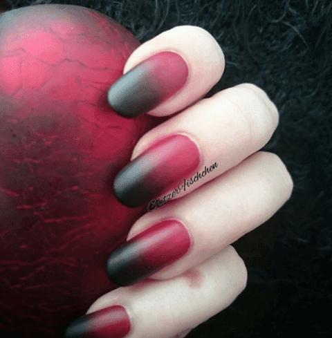 matte-ombre-nails