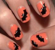 orange-bats-nail-art