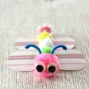 make-butterfly-pom-pom-craft-stick-6