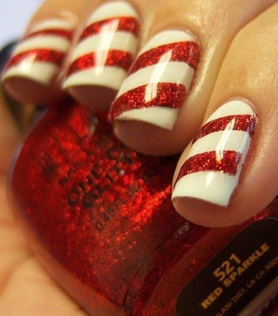 15-Simple-Easy-Christmas-Nail-Art-Designs-Ideas-2012-For-Beginners-Learners-5