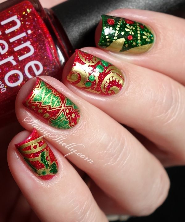 holiday-nail-art-with-cici-sisi-christmas-stamping-nine-zero-lacquer