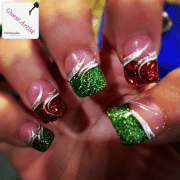 sparkly-christmas-nails