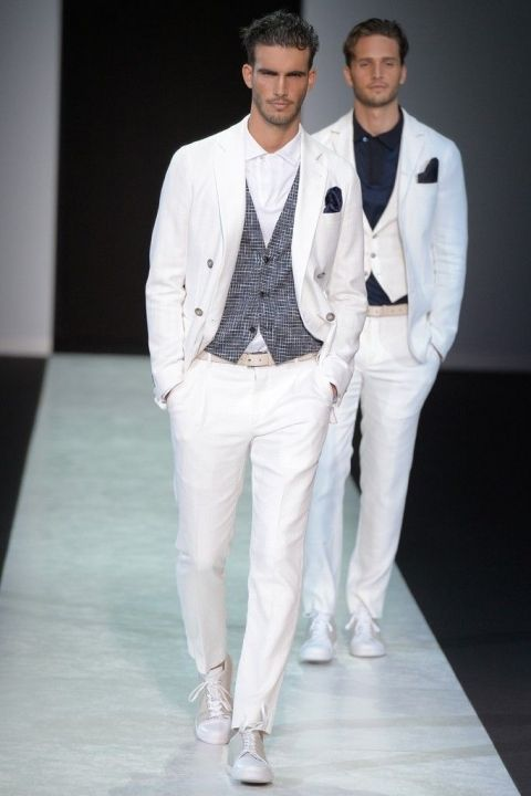 Giorgio-Armani-Mens-White-Suits