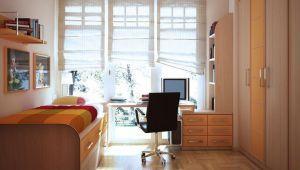 ایده هایی برای بزرگ نشان دادن اتاق خواب-