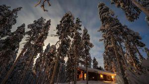 عکاس خوش ذوق ژاپنی و ثبت چشم انداز زمستانی کشور فنلاند