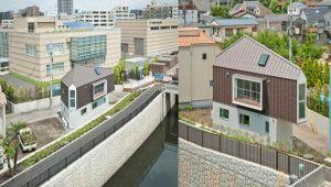طراحی توأم باخلاقیت خانهای کوچک در ژاپن توسط معماران آتلیه میزوییشی