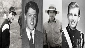 تصاویری جالب از دوران جوانی شمار از رؤسای جمهور آمریکا در سالیان دور و نزدیک