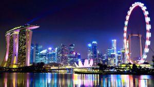 چشم اندازی جالب از شهر سنگاپور