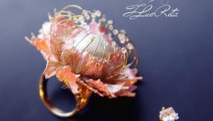 ساخت جواهرات ظریف از نوعی خمیر پلیمری شیشهای