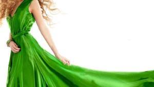 مدل های لباس به رنگ سبز، رنگ سال 2017