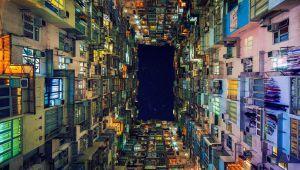 عکاسی از خانه های تابوت مانند هنگ کنگ