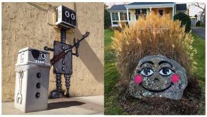 اوج ذوق و خلاقیت در نمایش هنر خیابانی