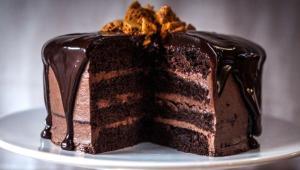 طرز تهیهی کیک پایهی شکلاتی