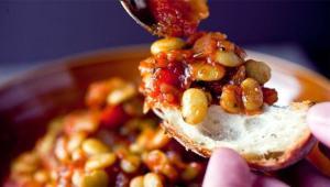 فوت و فن تهیهی یک خوراک لذیذ با لوبیای سفید