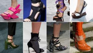 مدل های جالب کفش، کلکسیونهای بهار 2018
