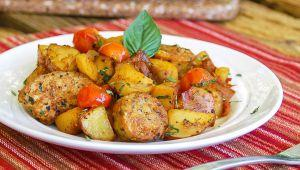 طرز تهیه سوسیس مرغ به سبک ایتالیایی