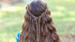 مدل مو ویژه کودکان، مدل بافت مو برای دختر کوچولوها