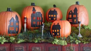 ایده هایی برای تزیین کدو تنبل های هالووین
