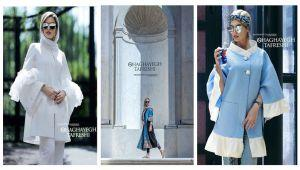 مدل مانتو جدید، مانتو بهاری، مانتو برای محضر و عقد برند شقایق تفرشی