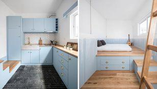 نگاهی به طراحی داخلی خلاقانه خانه ای کوچک در پرتغال