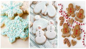 طراحی های بامزه بیسکوییت و کلوچه ویژه کریسمس